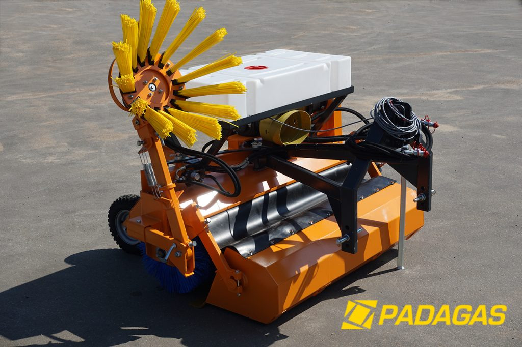 Street sweepers PG-BH (PTO driven, with collector box)