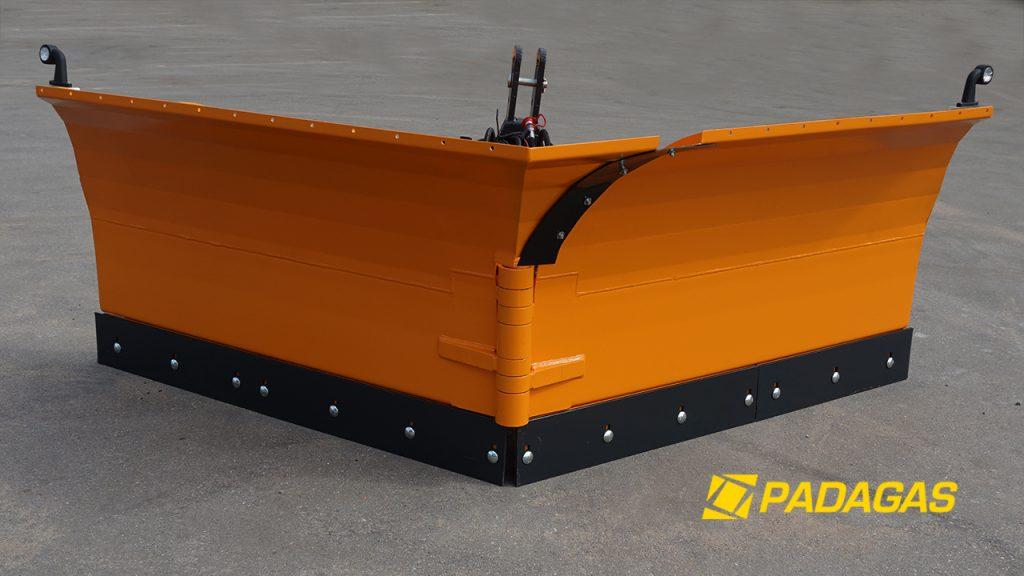 Snowplow heavy class SSVL (V-type)