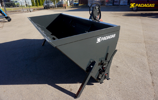 Padagas sand spreader SP-4000 is the smartest machine in the range!